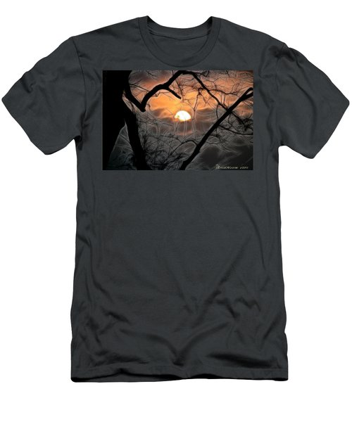 Men's T-Shirt (Slim Fit) featuring the photograph Strange Morning by EricaMaxine  Price
