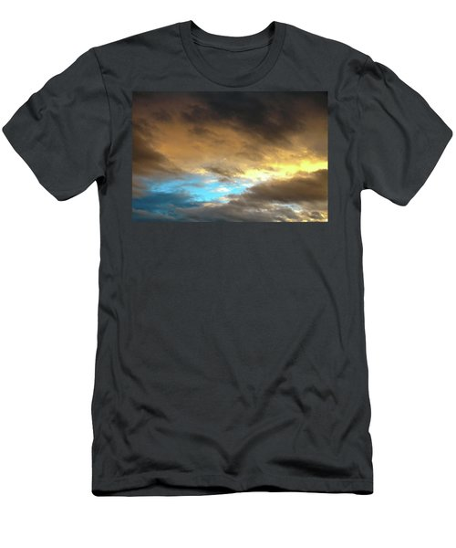 Stratus Clouds At Sunset Bring Serenity Men's T-Shirt (Athletic Fit)