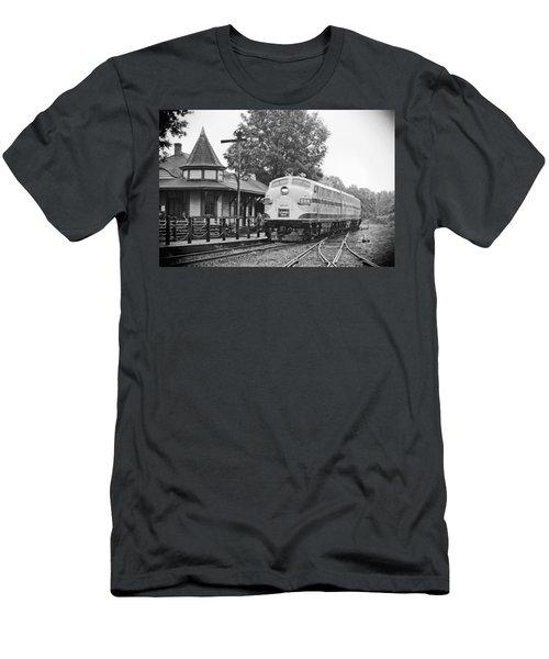 Streamliners Festival -- Post Process Men's T-Shirt (Athletic Fit)