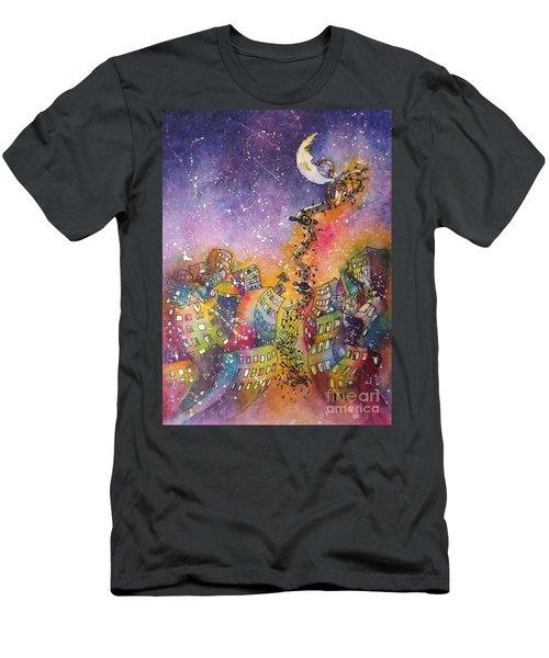 Street Dance Men's T-Shirt (Athletic Fit)