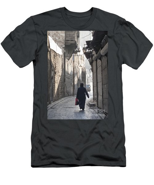 Street In Aleppo Syria Men's T-Shirt (Athletic Fit)