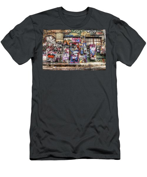Street Life Men's T-Shirt (Athletic Fit)