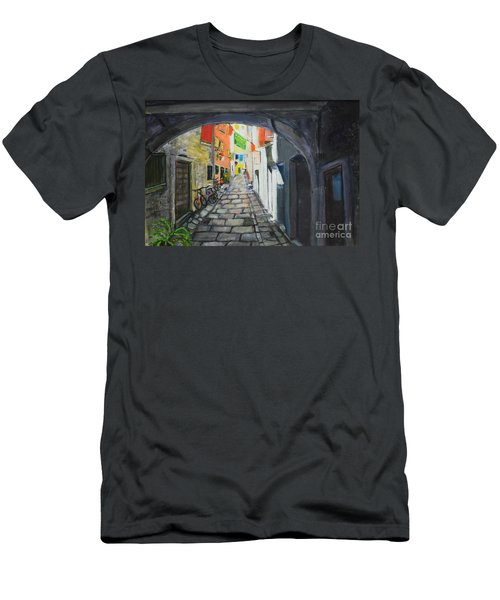 Street View 2 From Pula Men's T-Shirt (Athletic Fit)