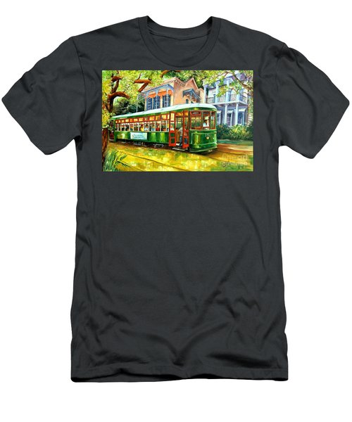 Streetcar On St.charles Avenue Men's T-Shirt (Athletic Fit)