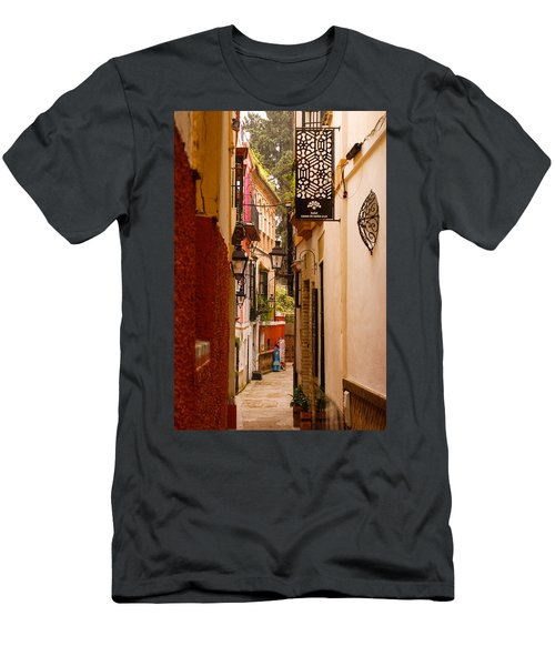 Streets Of Seville  Men's T-Shirt (Athletic Fit)