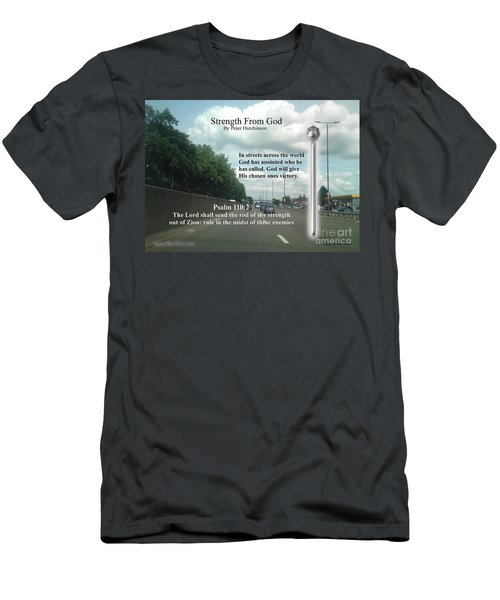Strength From God Men's T-Shirt (Athletic Fit)
