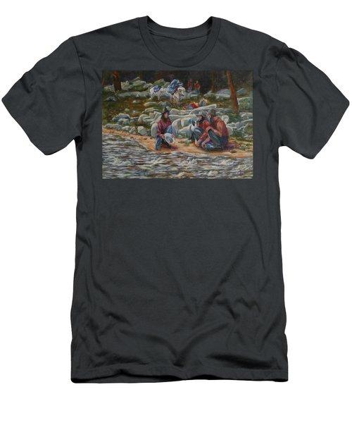 Strike It Rich Men's T-Shirt (Athletic Fit)