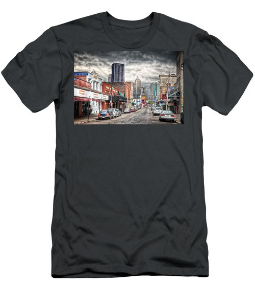 Strip District Pittsburgh Men's T-Shirt (Athletic Fit)