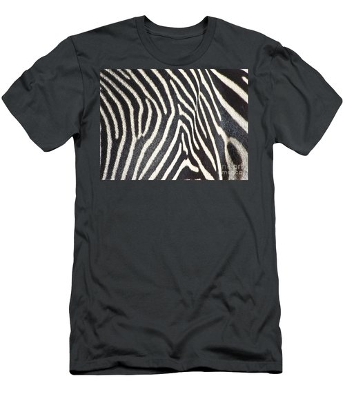 Stripes And Ripples Men's T-Shirt (Slim Fit) by Kathy McClure