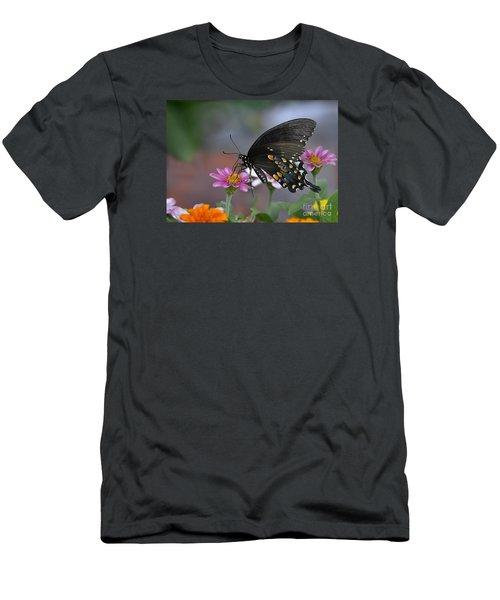 Men's T-Shirt (Slim Fit) featuring the photograph Summer Garden by Nava Thompson