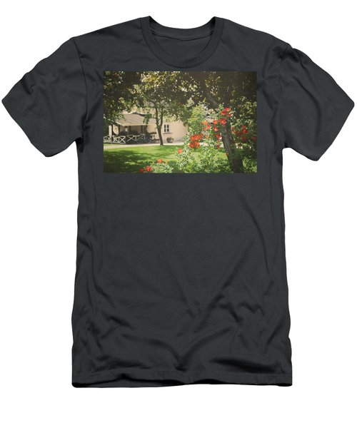 Men's T-Shirt (Slim Fit) featuring the photograph Summer In The Park by Ari Salmela