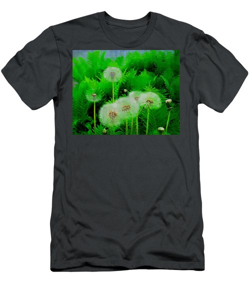 Summer Scenery In Green Men's T-Shirt (Athletic Fit)