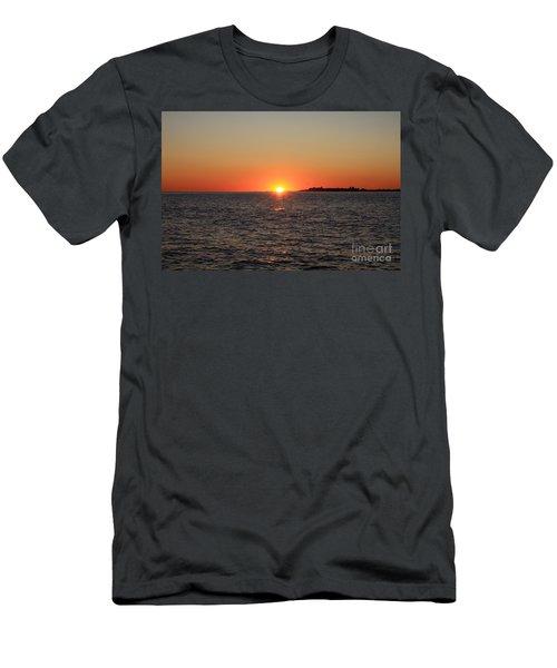 Men's T-Shirt (Slim Fit) featuring the photograph Summer Sunset by John Telfer