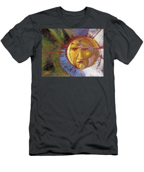 Sun Mask Men's T-Shirt (Athletic Fit)