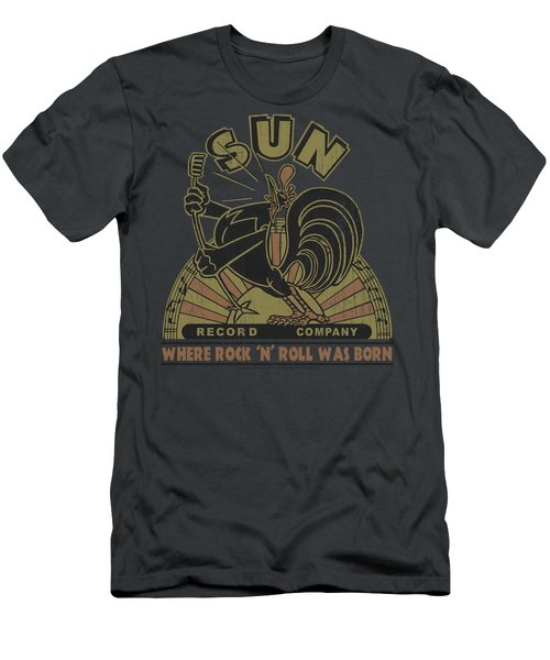 Sun - Sun Rooster Men's T-Shirt (Slim Fit) by Brand A