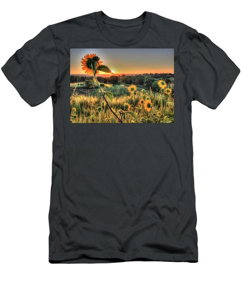 Sunflower Sunrise 1 Men's T-Shirt (Athletic Fit)