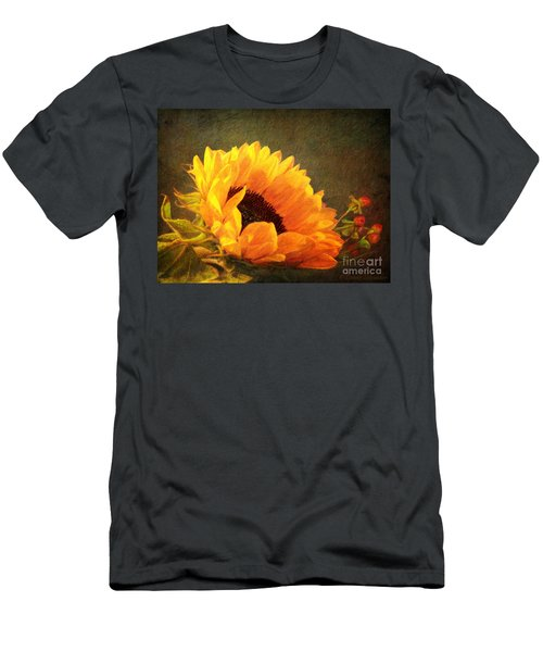 Sunflower - You Are My Sunshine Men's T-Shirt (Athletic Fit)