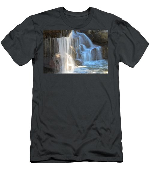 Sunlight On The Falls Men's T-Shirt (Athletic Fit)