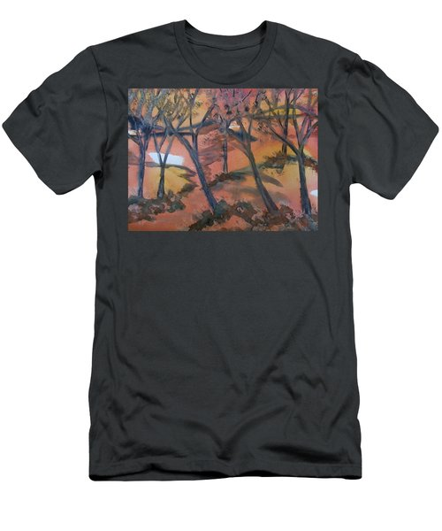 Sunlit Forest Men's T-Shirt (Athletic Fit)