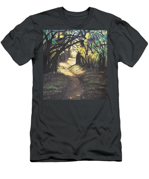 Sunlit Trail Men's T-Shirt (Athletic Fit)