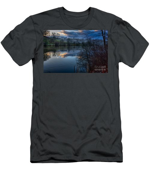 Sunrise At  Biltmore Estate Men's T-Shirt (Athletic Fit)