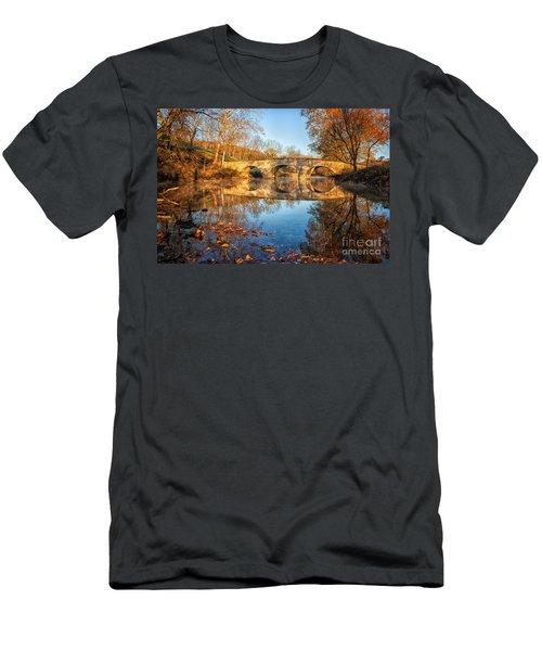 Sunrise At Burnside Men's T-Shirt (Athletic Fit)