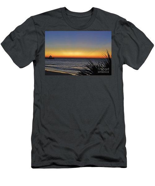 Sunrise At Folly Men's T-Shirt (Athletic Fit)
