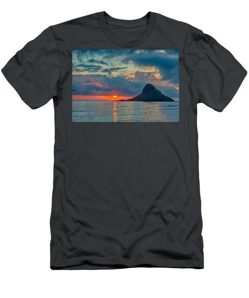 Sunrise At Kualoa Park Men's T-Shirt (Athletic Fit)