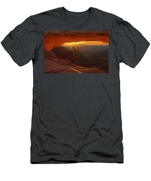 Sunrise At Mesa Arch 2 Men's T-Shirt (Athletic Fit)