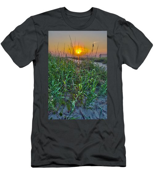 Men's T-Shirt (Slim Fit) featuring the photograph Sunrise At Myrtle Beach by Alex Grichenko