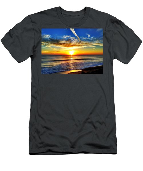 Sunrise Men's T-Shirt (Slim Fit) by Carlos Avila