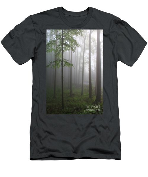 Sunrise Fog Men's T-Shirt (Athletic Fit)