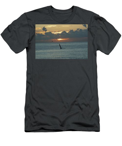 Men's T-Shirt (Slim Fit) featuring the photograph Sunrise In The Florida Riviera by Rafael Salazar