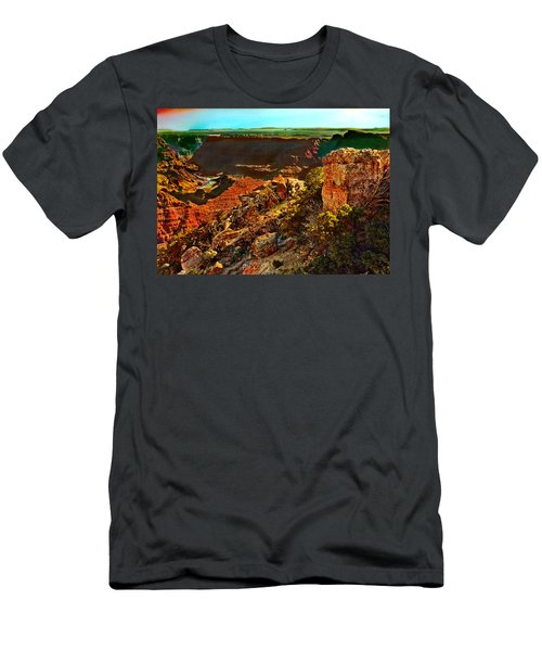 Sunrise Lipan Point Grand Canyon Men's T-Shirt (Athletic Fit)