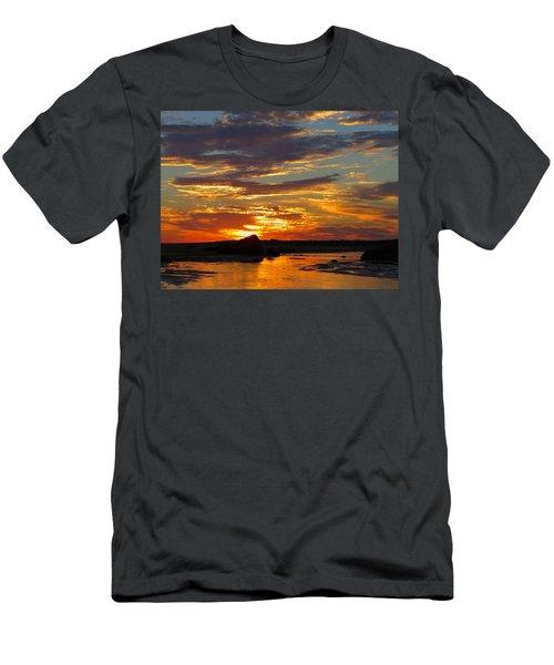 Men's T-Shirt (Slim Fit) featuring the photograph Sunrise Magic by Dianne Cowen