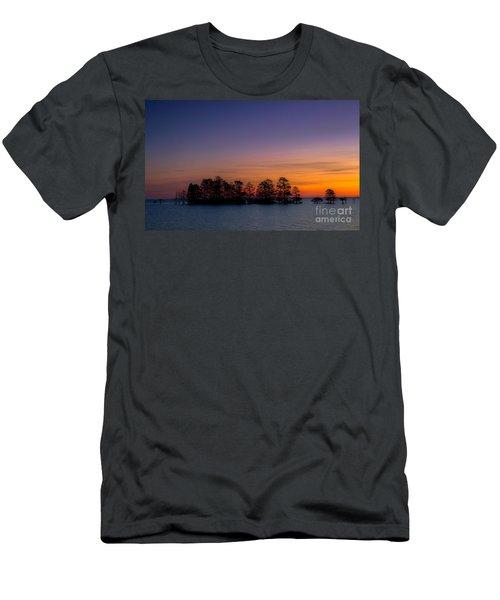 Sunrise On Lake Mattamuskeet Men's T-Shirt (Athletic Fit)