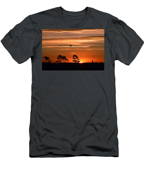 Sunrise Over Fenwick Island Men's T-Shirt (Athletic Fit)