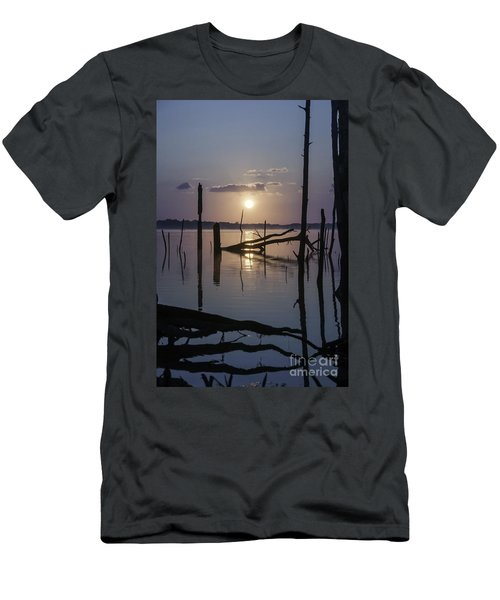 Sunrise Over Manasquan Reservoir Men's T-Shirt (Athletic Fit)