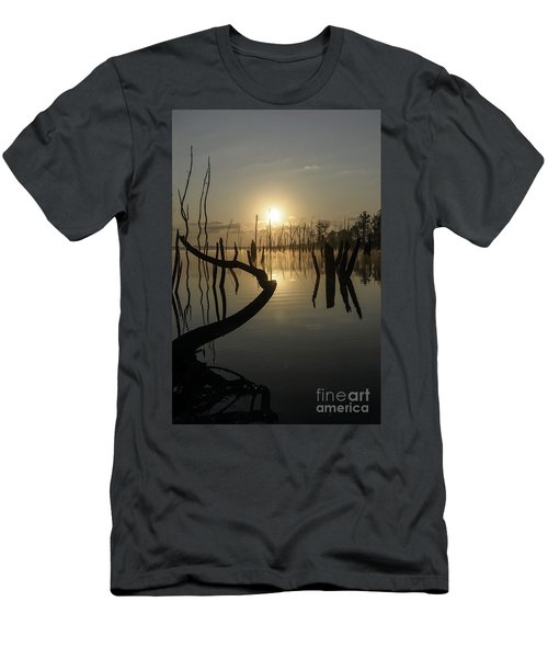 Sunrise Over Manasquan Reservoir II Men's T-Shirt (Athletic Fit)