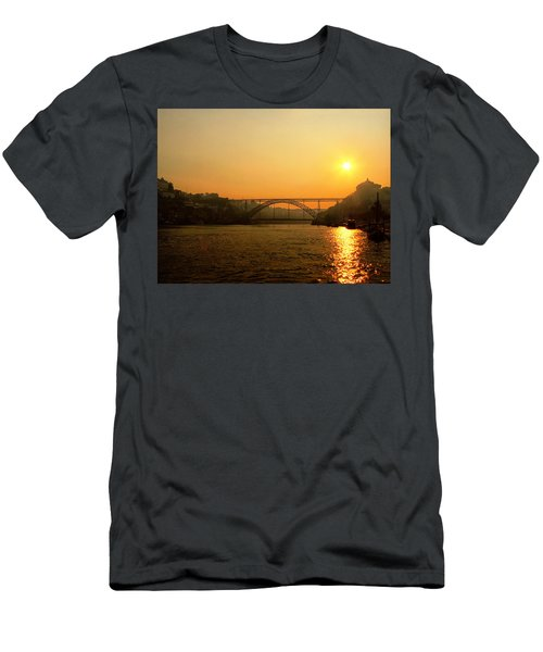 Sunrise Over The River Men's T-Shirt (Athletic Fit)