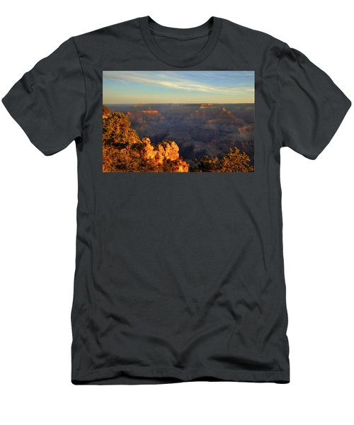 Sunrise Over Yaki Point At The Grand Canyon Men's T-Shirt (Athletic Fit)