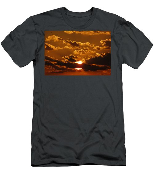 Sunset 5 Men's T-Shirt (Athletic Fit)
