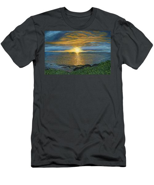 Sunset At Paradise Cove Men's T-Shirt (Athletic Fit)