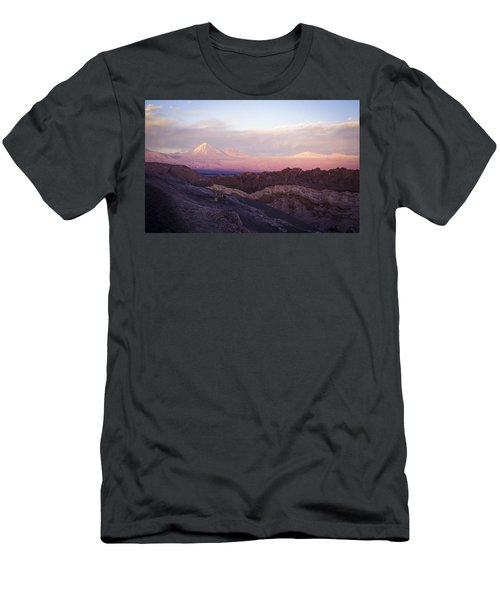 Men's T-Shirt (Slim Fit) featuring the photograph Sunset At The Valley Of The Moon by Lana Enderle