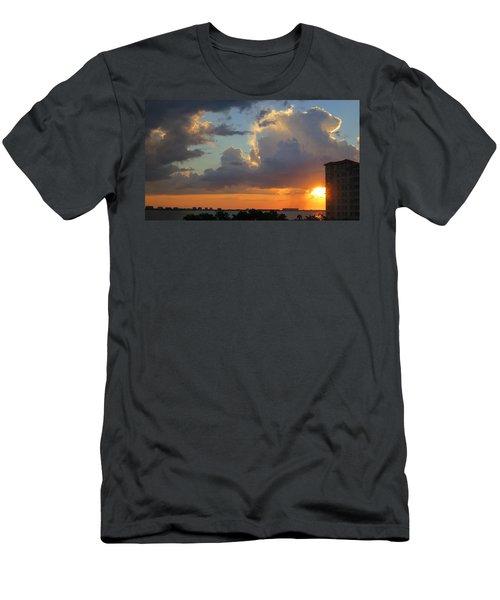 Sunset Shower Sarasota Men's T-Shirt (Athletic Fit)