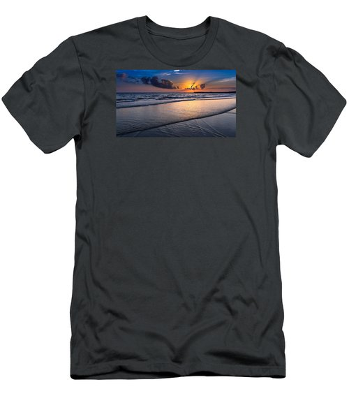 Sunset  Men's T-Shirt (Slim Fit) by Hayato Matsumoto