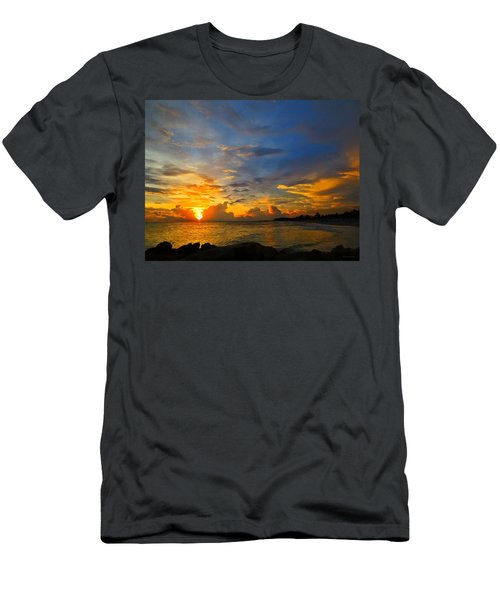Sunset In Paradise - Beach Photography By Sharon Cummings Men's T-Shirt (Athletic Fit)