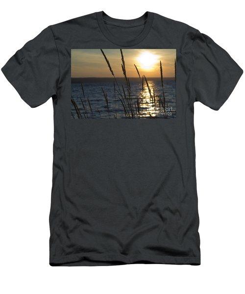 Sunset On Cayuga Lake Men's T-Shirt (Athletic Fit)