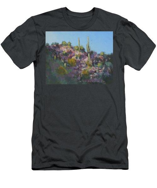 Sunset On Hawk Ridge Men's T-Shirt (Athletic Fit)