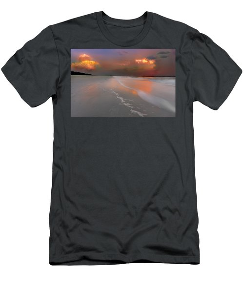 Sunset On Hilton Head Island Men's T-Shirt (Athletic Fit)